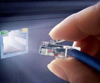 Настройка высокоскоростного интернета на дому.