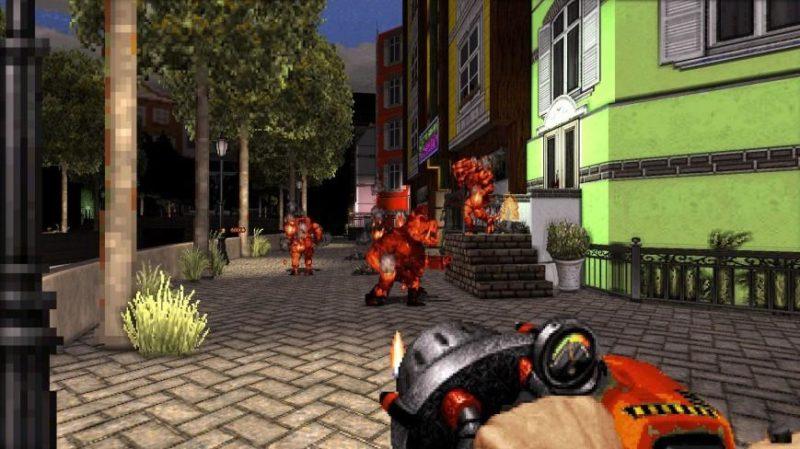 Новый эпизод для Duke Nukem 3D. Разве плохо смотрится?