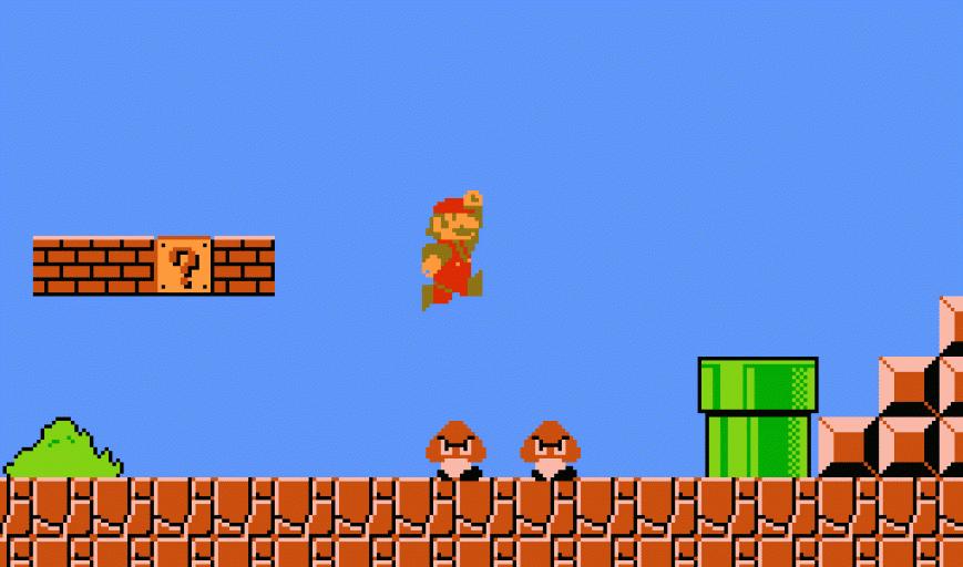 Мировой рекорд скоростного прохождения Super Mario Bros. — 4 минуты 55 секунд 796 миллисекунд, но даже не торопясь игру можно пройти за полчаса-час