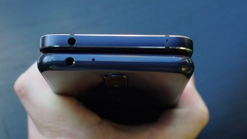 Сверху - Nokia 7.1, снизу - Nokia 5.1 Plus