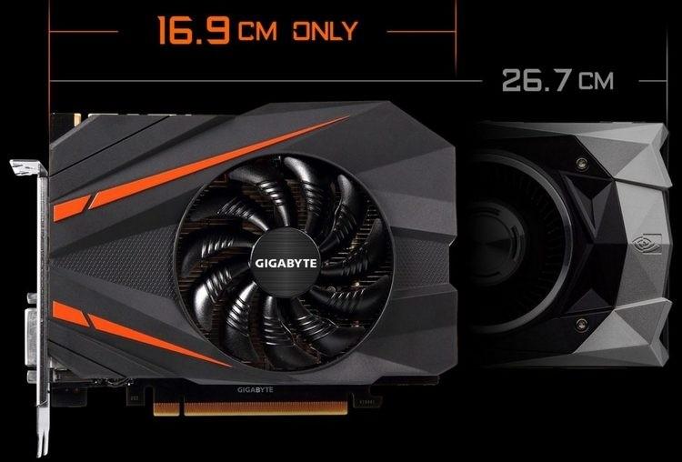 Gigabyte GeForce GTX 1070 Mini ITX в сравнении с GeForce GTX 1070 FE