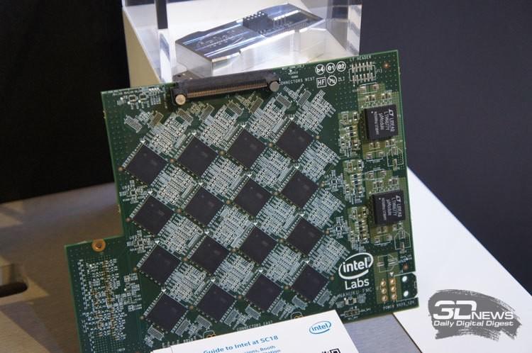 Nahuku: от 8 до 32 чипов Intel Loihi