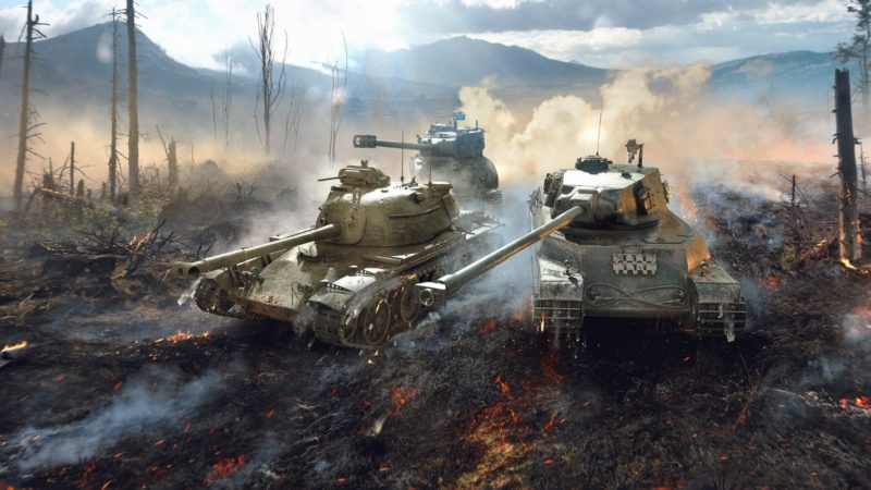Скрин игры World of Tanks